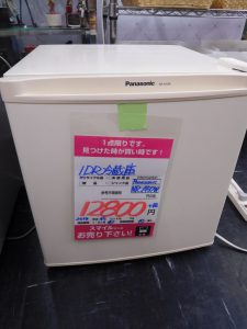 1ドア冷蔵庫 パナソニック NR-A50W 買取しました。 スマイルサンタ長野南バイパス店。