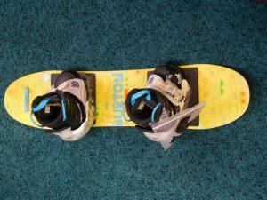 子供用スノーボード BURTON サイズ80㎝  ブーツサイズ 18.5㎝ サンタ販売価格2,980円+税  スマイルサンタ長野南バイパス店