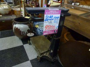 台秤  入りました   長野南バイパス店