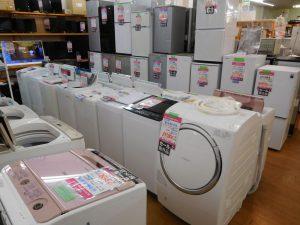 冷蔵庫・洗濯機あります。スマイルサンタ長野南バイパス店 TEL026-214-8035