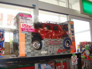 4RUNNER KING HM Racer ラジコン ¥7.800+税