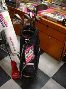 ゴルフクラブ ハーフセット