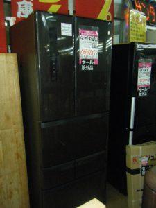6ドア冷蔵庫入りましたっ