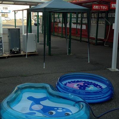 テントとプールです!! リサイクル 塩尻北