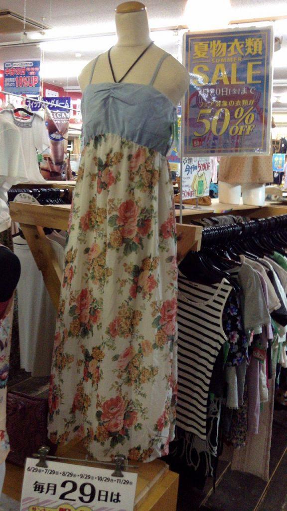 夏物衣類セール中です!! リサイクル 塩尻北
