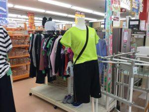 スポーツウェアコーナー移動 ☺︎サンタ上田店