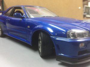 日産スカイラインGT-R VスペックⅡ 5800円+税 1/18ですけど。。。Autoart  R34