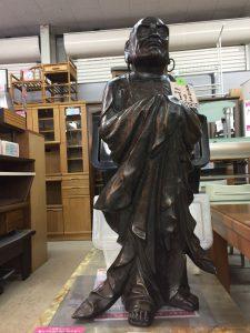 クララが立った・・・達磨も立ったの、、達磨大師立像  高岡 旭峰 銅はどう? 87,780円込