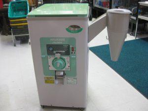 ホソカワ精米機 NEWR551E 株式会社 細川製作所 一回通し式精米機 もみ・玄米兼用  光センサー自動停止機能付 コードに補修ありますが、動作しました。¥17,800+消費税 スマイルサンタ千曲戸倉店 TEL:026-214-8102
