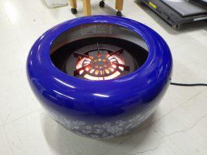 電気火鉢 MK-44(BL) 状態良いです!! ¥10,780(税込) スマイルサンタ千曲戸倉店 TEL:026-214-8102