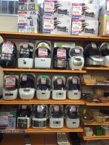 炊飯ジャー、電子レンジたくさんあります!!
