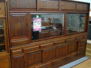【買取しました】特大 茶箪笥 W254cm ¥54.780税込