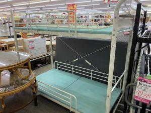 2段ベッド スチールパイプ製 リサイクルショップ スマイルサンタ塩尻北インター店 買取もしております☆