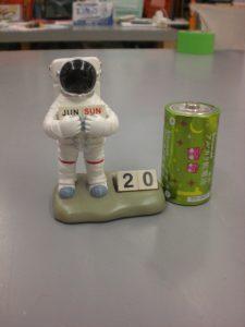 宇宙飛行士 デスクトップカレンダー 買取りました スマイルサンタ上田店