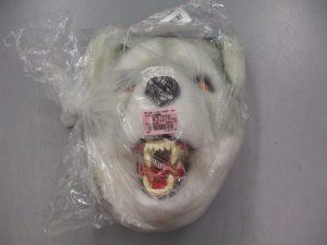 ただの狼の被り物あります♪ 3,278円(税込み) スマイルサンタ上田店 TEL:0268-71-5202