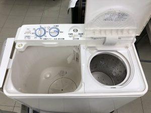 待望っ! 二槽式洗濯機買取 ました。AQUA 4.5kg脱水槽ステンレス✨ 16年製 服もパンツもカーテンも2槽同時にグルグル な伊那店