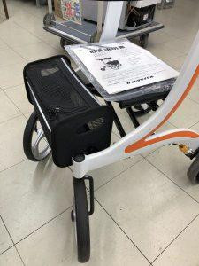 カワムラサイクル KW-41四輪歩行車(シルバーカー) 抑速機能搭載 充実機能 やさしいだけなら 介護・補助具買取 スマイルサンタ伊那店