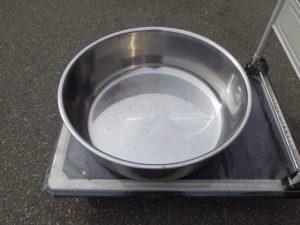 ステンレス たらい 洗い桶 60cm (50.0L)φ600×200mm ¥6,380(税込) スマイルサンタ千曲戸倉店 TEL:026-214-8102