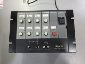 RAMSA Panasonic オーディオミキサー WR-X04 ¥4,378(税込) スマイルサンタ千曲戸倉店 TEL:026-214-8102
