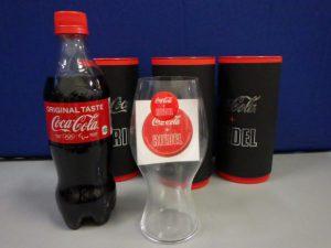 コカ・コーラ + リーデルグラス Coca-Cola+RIEDEL コーラ専用グラス 買い取りしました!! 1個¥1,408税込 スマイルサンタ千曲戸倉店 TEL:026-214-8102