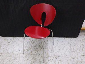 STUA ストゥア Globus chair グローバスチェア スペイン製 レッド/赤 イス ダイニングチェア 椅子 買い取りしました!! ¥8,580税込 スマイルサンタ千曲戸倉店 TEL:026-214-8102